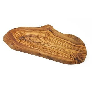 "Olive Wood Rustic Board (no handle) - Large (14"") by Le Souk Olivique