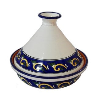 Le Souk Ceramique RY20CT Cookable Tagine 12 Inch, Riya