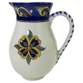 Le Souk Ceramique RY49 Stoneware Pitcher, Riya