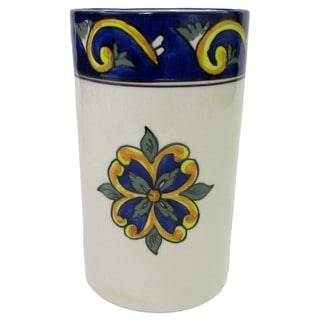 Le Souk Ceramique RY58 Stoneware Utensil/Wine Holder, Riya