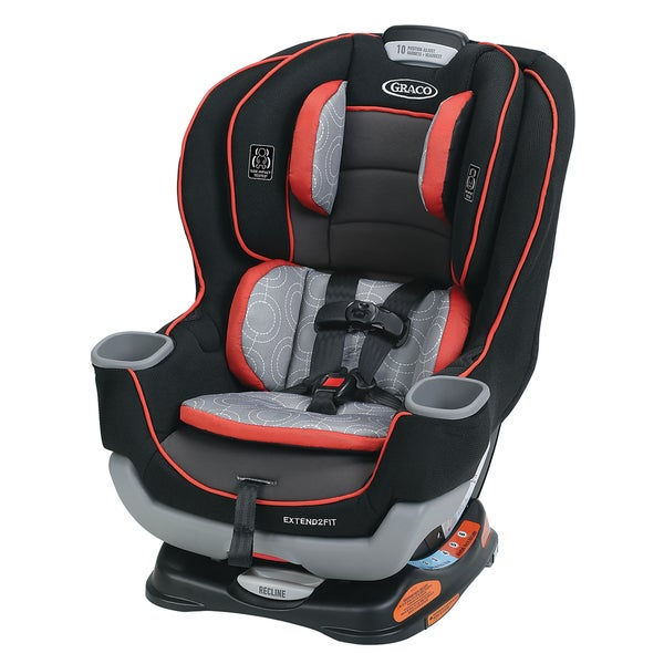 Graco Solar Extend2Fit Convertible Car Seat