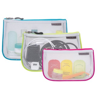 Travelon 3-piece Piped Pouch Set
