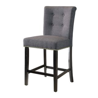Montrose Fabric Upholstered Counter-Height Chairs (Set of 2)