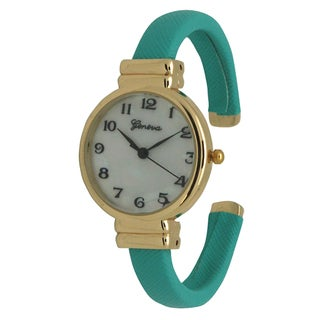 Link to Olivia Pratt Women's Simple and Pretty Petite Leather Bangle Watch One Size Similar Items in Women's Watches