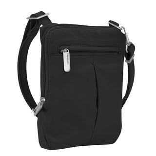 Travelon Anti-Theft Classic Light Slim Mini Crossbody Handbag
