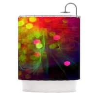 KESS InHouse Alison Coxon Dance Shower Curtain (69x70)
