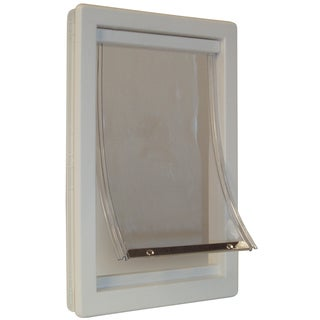 "Ideal Pet Products 9"" x 14-13/16"" Medium Thermoplastic Pet Door"