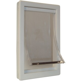 "Ideal Pet Products 7"" x 10-5/8"" Small Thermoplastic Pet Door"