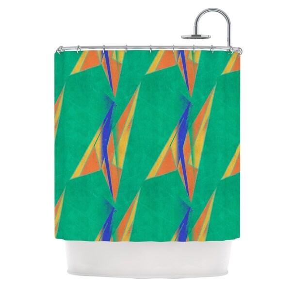 KESS InHouse Alison Coxon Deco Art Shower Curtain (69x70)