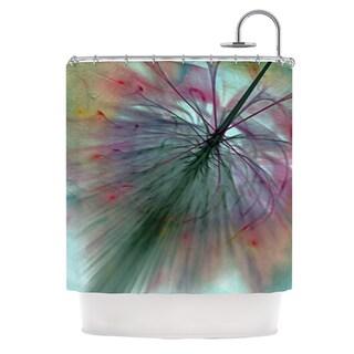 KESS InHouse Alison Coxon Fleur Shower Curtain (69x70)