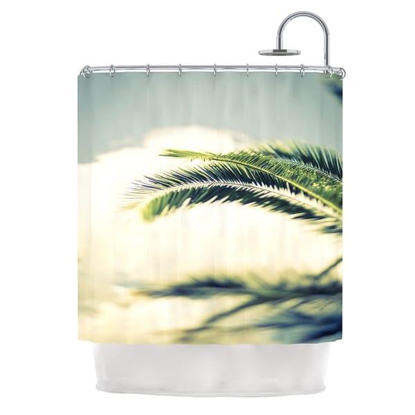 KESS InHouse Ann Barnes Summer Breeze Nature Photography Shower Curtain (69x70)
