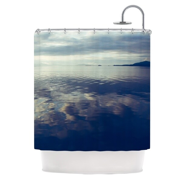 KESS InHouse Ann Barnes Cloud Atlas Water Shower Curtain (69x70)
