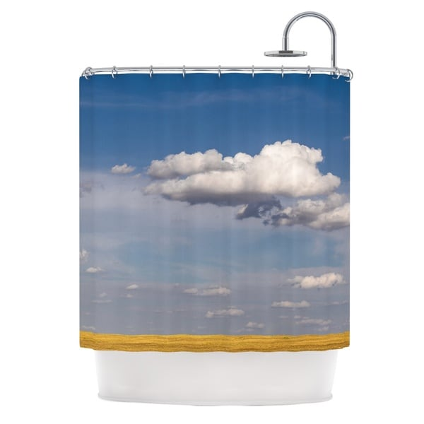 KESS InHouse Ann Barnes Big Sky Clouds Shower Curtain (69x70)
