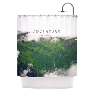 KESS InHouse Ann Barnes Adventure is Waiting Mountain Shower Curtain (69x70)