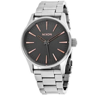 Nixon Men's A450-2064 Sentry 38 SS Watches|https://ak1.ostkcdn.com/images/products/15096299/P21584093.jpg?impolicy=medium