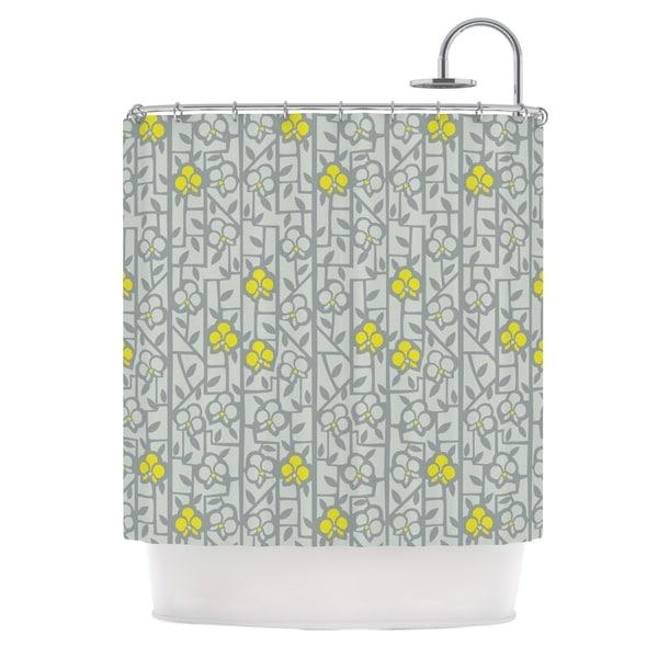 KESS InHouse Allison Beilke Deco Orchids Shower Curtain (69x70)