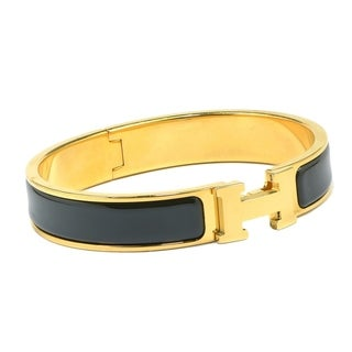 Women's H-design Reversible Leather Belt with Removable Buckle (Bracelet to Match Sold Separately)