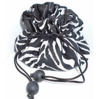 Luggage Spotter Zebra Print Travel Jewelry Pouch Bag