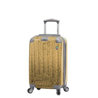 Mia Toro ITALY Particella 21-inch Carry-On Hardside Spinner Upright Suitcase