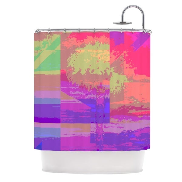 KESS InHouse Nina May Impermiate Poster Shower Curtain (69x70)