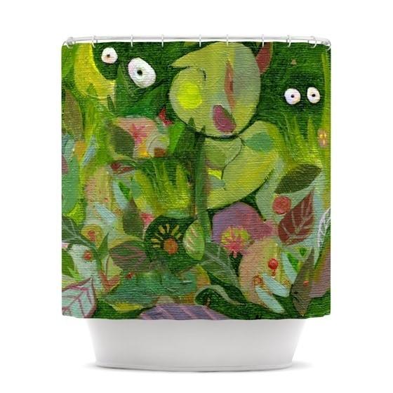 KESS InHouse Marianna Tankelevich Jungle Shower Curtain (69x70)