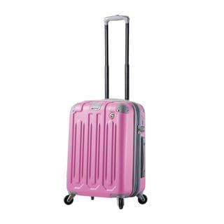 Mia Toro ITALY Gelato 22-inch Carry-On Hardside Spinner Upright Suitcase