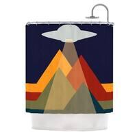 "KESS InHouse KESS Original ""Abduct Me"" Geometric Fantasy Shower Curtain (69x70) - 69 x 70"