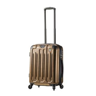 Mia Toro ITALY Lustro 22-inch Carry On Hardside Spinner Upright Suitcase