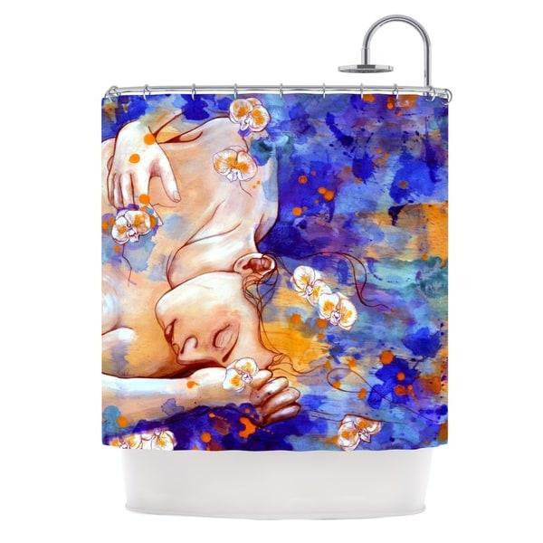 KESS InHouse Kira Crees A Deeper Sleep Shower Curtain (69x70)