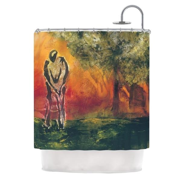 KESS InHouse Josh Serafin Par Golf Shower Curtain (69x70)