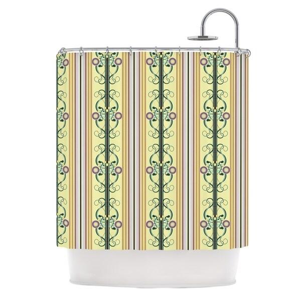 KESS InHouse Mydeas Blooming Trellis Shower Curtain (69x70)