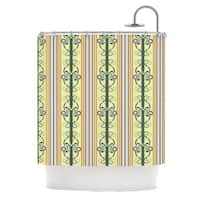 KESS InHouse Mydeas Blooming Trellis Shower Curtain (69x70)