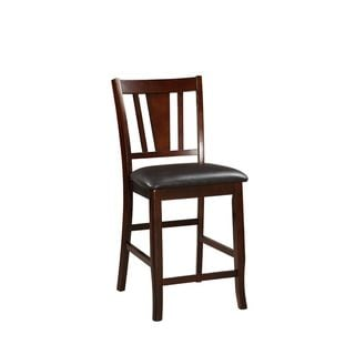Daelan Espresso Counter-Height Chairs (Set of 2)