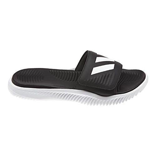 5e8d027c28e1 Shop Men s adidas AlphaBOUNCE Slide White Core Black White - Free Shipping  On Orders Over  45 - Overstock - 13875047