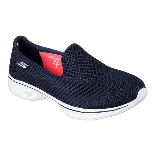 Skechers Go Walk 4 - Propel Navy Blue Running Shoes enjoy sale online pre order sale online jnZam