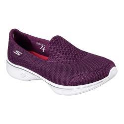 Women's Skechers GOwalk 4 Propel Walking Shoe Raspberry