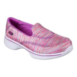 Girls' Skechers GOwalk 4 Walking Shoe Pink/Multi