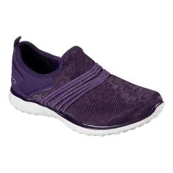 Women's Skechers Microburst Under Wraps Walking Sneaker Purple