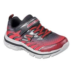Boys' Skechers Nitrate Pulsar Sneaker Charcoal/Red