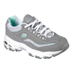 Women's Skechers D'lites Life Saver Sneaker Gray/White
