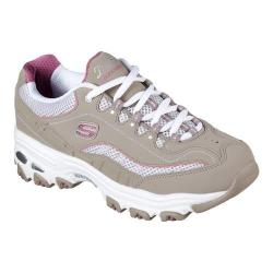 Women's Skechers D'lites Life Saver Sneaker Taupe