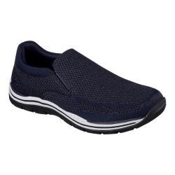 Men's Skechers Relaxed Fit Expected Gomel Slip-On Sneaker Navy