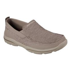 Men's Skechers Relaxed Fit Harper Moven Loafer Light Brown