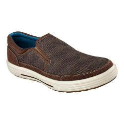 Men's Skechers Relaxed Fit Porter Compen Slip On Sneaker Brown