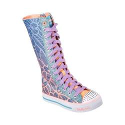 Girls' Skechers Twinkle Toes Shuffles Tall Tango High Top Denim/Multi