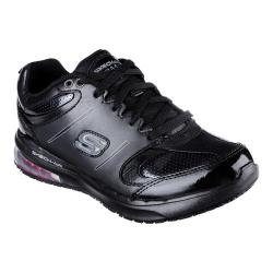 Women's Skechers Work Relaxed Fit Skech-Air SR Lingle Work Sneaker Black
