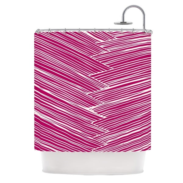 KESS InHouse Anchobee Loom Shower Curtain (69x70)