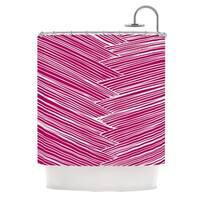 KESS InHouse Anchobee Loom Shower Curtain (69x70)