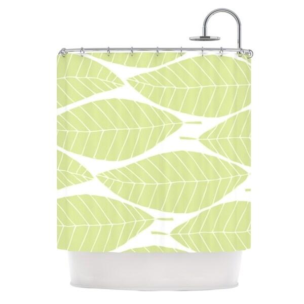 KESS InHouse Anchobee Hojitas Shower Curtain (69x70)