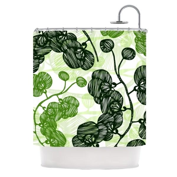 KESS InHouse Anchobee Hikae Shower Curtain (69x70)